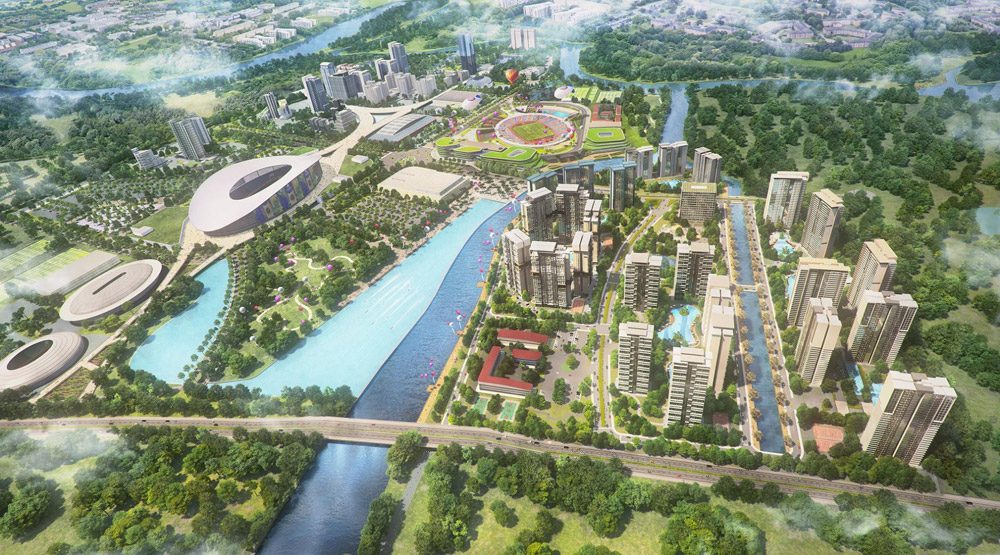 thiet ke saigon sports city